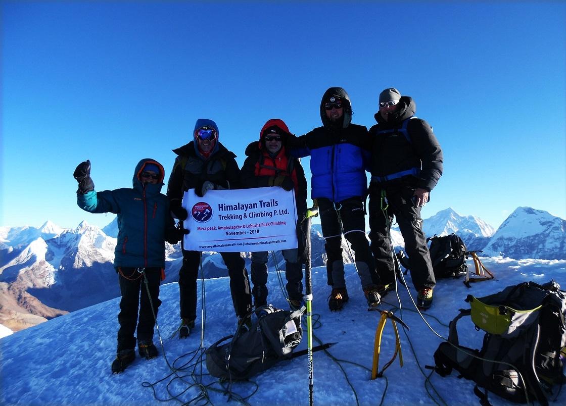 Duration of Mera Peak Climbing