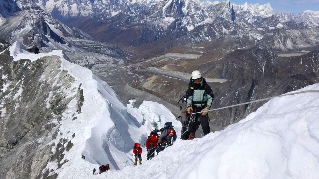 Island Peak Climbing in Nepal