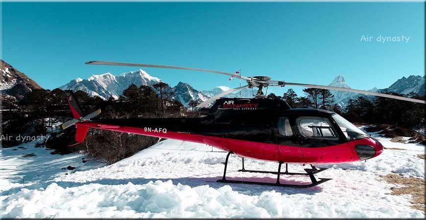 Langtang Heli Tour In Nepal